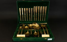 Boxed Set of Solid Bronze Cutlery handma