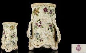 Royal Worcester Handpainted Porcelain Sp