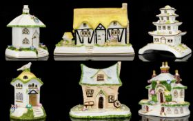 Coalport China Collection of Hand Painte