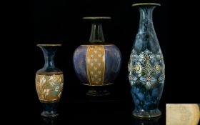 Royal Doulton Collection of Assorted Vas