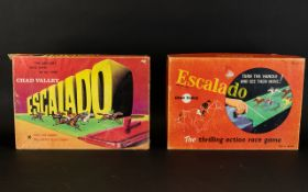 Two Boxed Vintage 'Escalado' Board Games