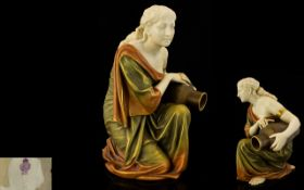 Royal Worcester Late 19th Century Figure