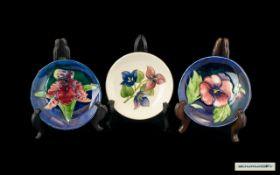 Moorcroft Tube lined Pin Dishes ( 3 ) Va