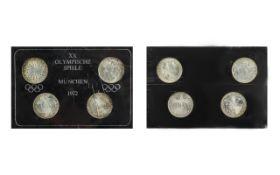 XX Olympic Games Munich 1972 - set of fo