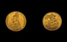 Queen Victoria Superb 22ct Gold - Jubile