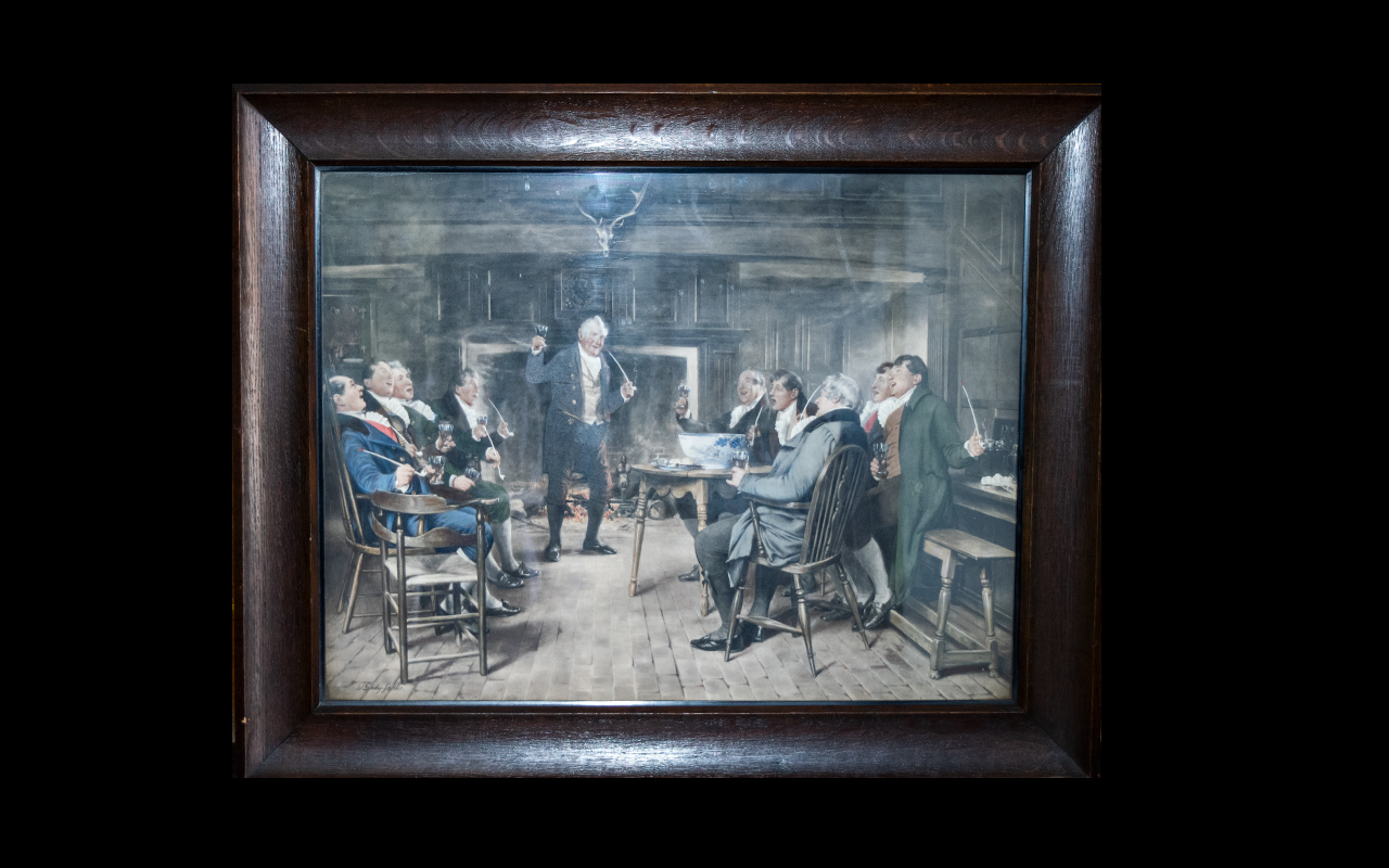 Lot 926 - Framed Print Heightened With White After