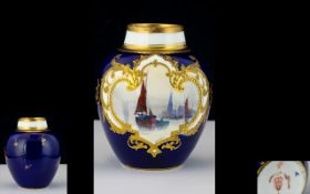 Royal Crown Derby Fine Quality - Small H