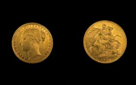 Queen Victoria Superb 22ct Gold - Young
