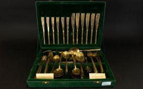 Boxed Set of Solid Bronze Cutlery handma