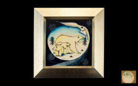 Moorcroft Framed Wonderful Quality Tubel