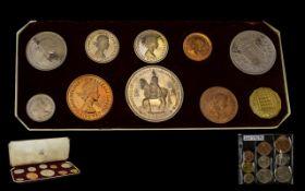A 1953 Royal Mint Proof Coin Set Compris