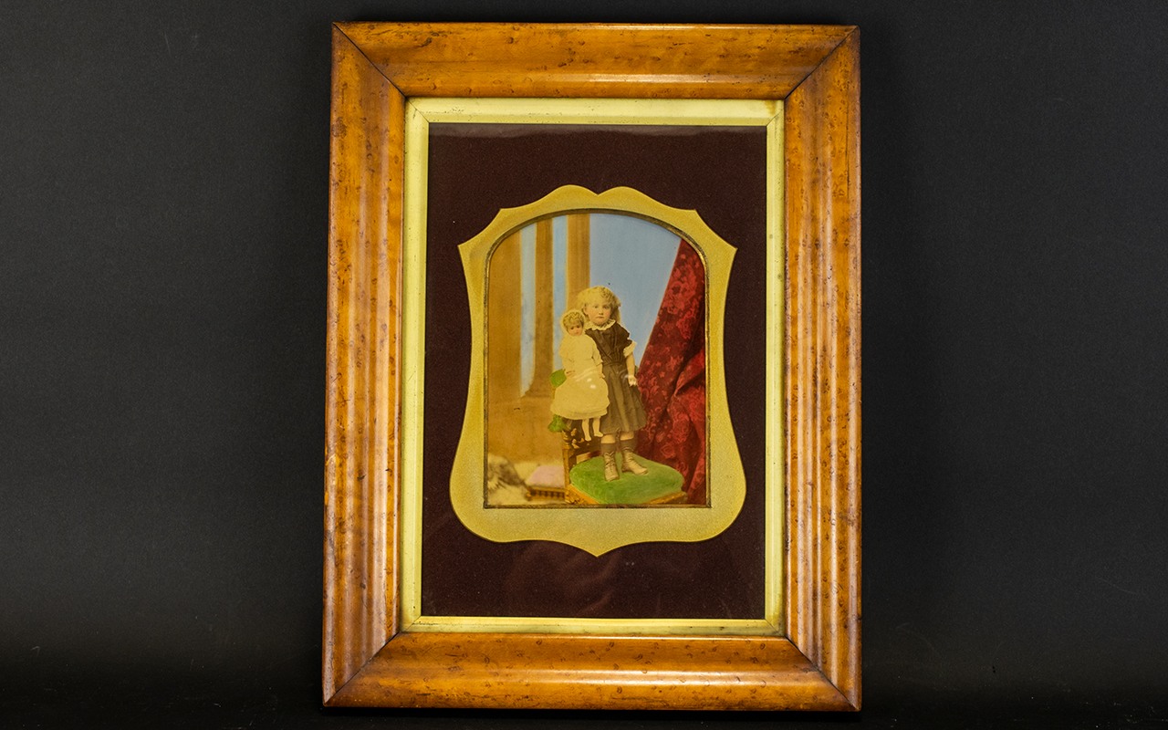 Lot 929 - A 19th Century Box Framed Photographic P