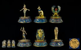 A Collection of Egyptian Tourist Pieces (6) in total.