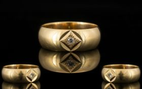 9ct Gold Band Ring,