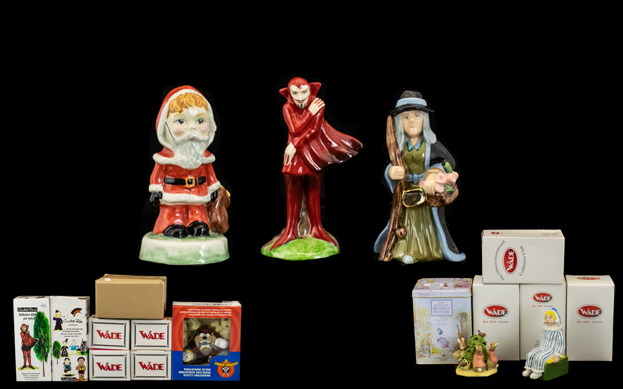 Lot 589 - Collection of Wade Collectors Club Figures to include 'Wendy', 'Peter Pan', 'Tinkerbell',