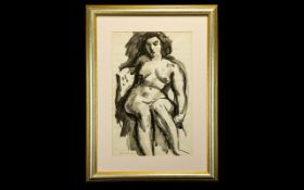 Painting by Emmanuel Levy. Iconic nude s