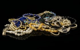 A Mixed Collection Of Costume Jewellery