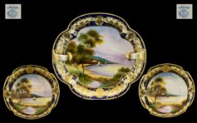 Noritake Early 20th Century Hand Painted