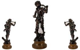 20th Century Bronze Sculpture / Figure o