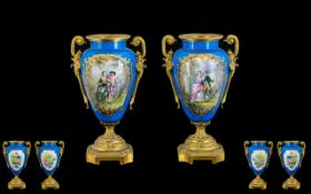 Sevres Style - Nice Quality 19th Century
