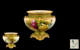 Royal Worcester. Royal Worcester Vase w