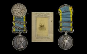 1854 - 1856 Crimea Medal With Two Clasps