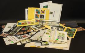 Stamp Interest - Large Quantity of Mostly GB Stamps Mounted on Cards from very early onwards.