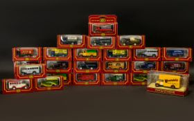 Collection of 'Cameo from Corgi' Model Vintage Vans from 'The Village Collection',
