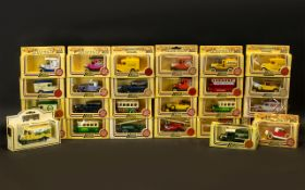 Collection of Model Vans by Lledo diecast 'Days Gone' Promotional model range all in original boxes