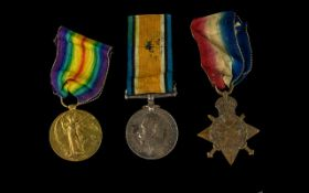 World War I Trio of Military Meals All with Ribbons Awarded to 13011 PTE. J. FRITH. 8. LAN.R.