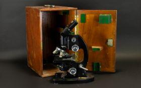 Cooke, Troughton and Simms Ltd - M25 Series 1.5x Microscope. Pat No 201395.