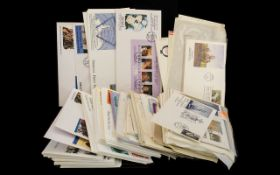 Large Selection of First Day Covers - in polythene bay.