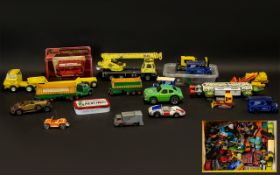 Collection of Collectable Vehicles.