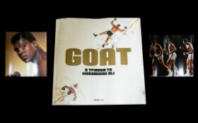 GOAT 'A Tribute To Muhammad Ali' Published By Taschen 30 Page Bound Supplement Produced in