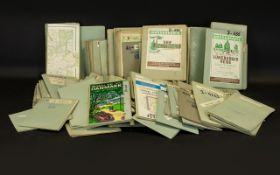GERMAN ORDNANCE SURVEY MAPS. Large Quantity of 1960s maps, over 115 plus, to include 33-2523