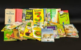 Large Collection of Early Ladybird Books - Various Subjects,