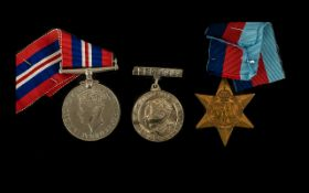 Two World War II Medals 1939-1945 Star together with a War medal.