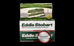 Two Eddie Stobart Collectors Model Trucks with certificates.
