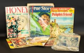 Fashion/Social History Interest A Collection Of Early 20th Century Womens Publications To include