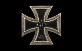 WW2 Nazi Third Reich German Iron Cross 1939 1st Class,