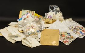 Stamp Interest - A very large lot of mixed stamps from around the world,