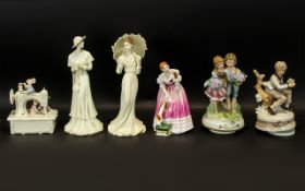 Collection of Figures to include Royal Doulton.