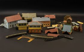 Railway Interest. A Collection of Railway Buildings to include Hornby, Oakham Level Crossing, The