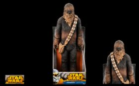 Large Star Wars - Delux Figure ' Chewbacca ' ( Chewie ) First Mate and Co Pilot of The Millennium