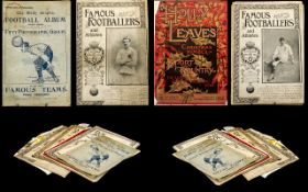 Small Collection Of Sporting Related Ephemera To Include The Daily Graphic Football Album 1904-1905,