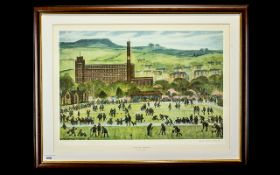 Lloyd's George Higgins 1912 - 1980 Signed by The Artist Ltd and Numbered Edition Colour - Lithograph