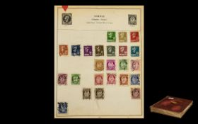 Well Filled Strand Stamp Album with Stamps From All Over The World.