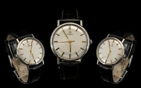 Omega Gents - Cal 600 Steel Cased Mechanical Wind Wrist Watch, Date 1963.