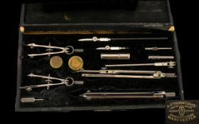 Mathematical Instruments Drawing Maths Set, In Original Box Which Reads - A.G.Thornton Ltd,