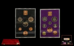 Boxed Decimal Coin Set comprising of 'A set that brings together the last ever striking of British